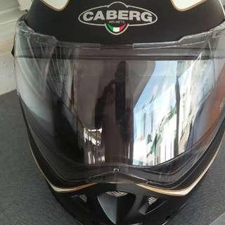 Caberg Flat Black Flip Up Helmet