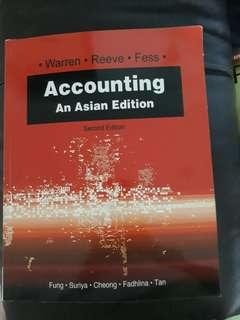 Accounting - An Asian Edition