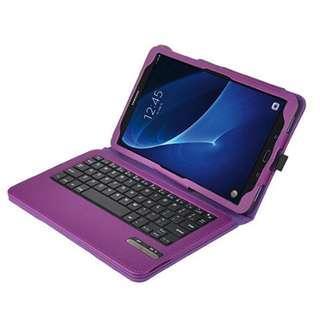 IVSO Samsung Galaxy Tab A 10.1 Keyboard case (Purple) - 1126