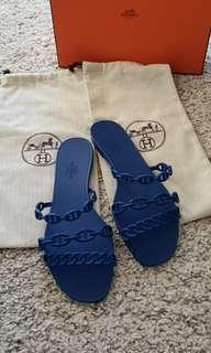 c342cde765e9 Hermes Rivage Jelly Sandals
