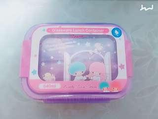 Little Twin Stars glassware container