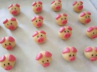 German Piggy Cookies