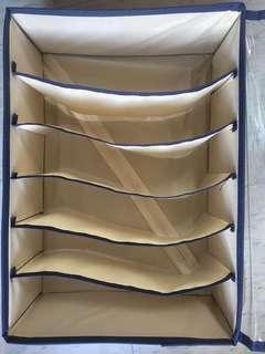 🚚 內衣內褲收納盒 可折疊內衣盒子衣柜分格襪子收納盒