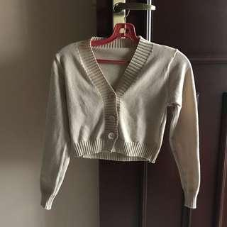 Almond knitted top