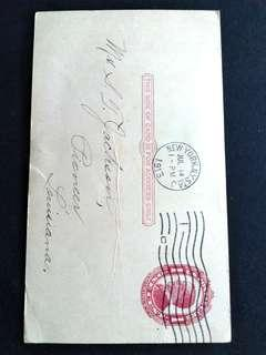 1913 US. Vintage postcard