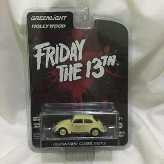 Greenlight - Friday the 13th Volkswagen Classic Beetle