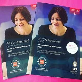 2019 ACCA BPP AFM 1set Advanced Financial Mgmt