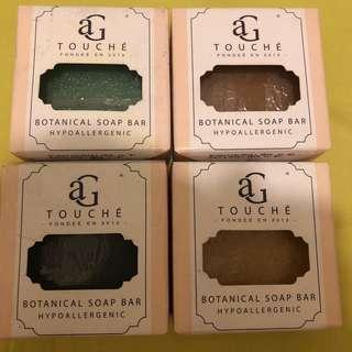 AG Touche Botanical Handmade Soap 80g
