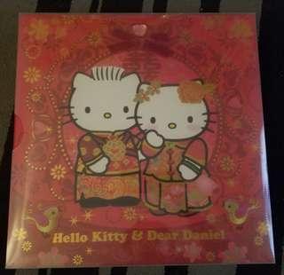 全新 Hello Kitty 結婚相簿 (送禮狀態或自用)