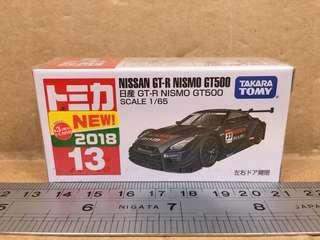 Tomica Nissan GT-R Nismo GT500 No.13