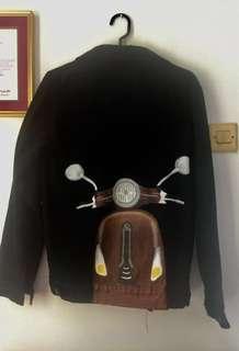 Jeans Jacket Custom Vespa Pimp.My.Denim