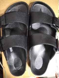 台灣製 防水 男 拖鞋 雙排扣 居家鞋 外出鞋