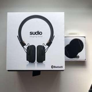Sudio regent black wireless headphones