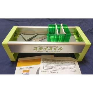 🚚 日本原裝進口 CHIBA 手動切片機 食物調理 切片 切絲 刨絲 切菜 料理 スライスくん-Slicekun