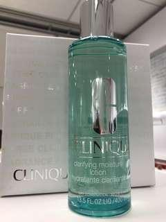 Clinique clarfying moisture lotion 2 (400ml)