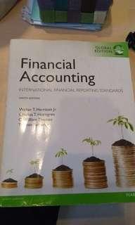 Financial accounting (international financial reporting standards)