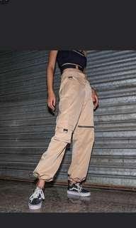 Cobain khaki cargo pants