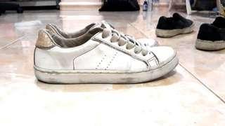 Bershka White Woman Shoes (ORIGINAL) #onlinesale
