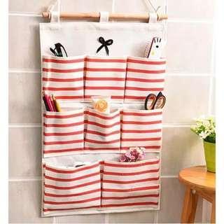 kantong gantung 8 slot motif stripes