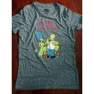Men's Vintage Shirt Simpsons Unisex Graphic Tee