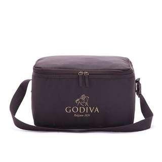 🚚 百貨專櫃 GODIVA 巧克力 品牌 限定 母乳袋 保冷袋 運輸袋 副食品保溫包 奶瓶袋 野餐包 保冷包 背包 保溫袋