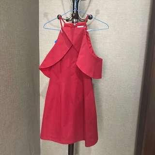Love Bonito red dress