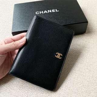 AUTHENTIC CHANEL Calfskin Medium Wallet Purse
