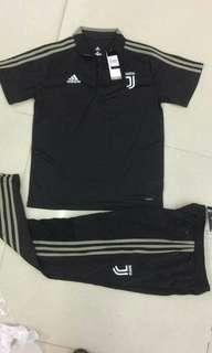 Juventus 18-19 Black Polo Kit