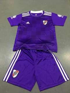 River Plate 18-19 Kids Away Kit