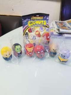 Avengers Infinity War Coonuts 全六款