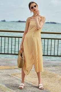 BNWT TCL Odila Stripes Midi Dress