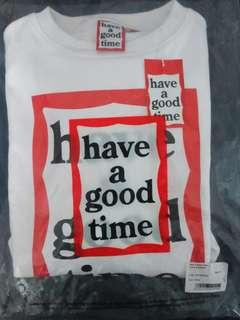 AUTHENTIC Have A Good Time Frame White Sweater
