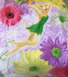 Tinker Bell & Disney Princess Soft fleece blanket