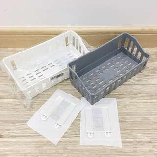 Bathroom / Kitchen Plastic Wall Shelf