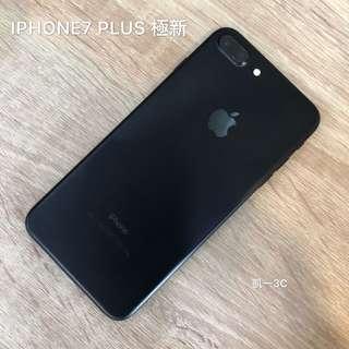[凱一3C]APPLE IPHONE7 PLUS 32G 霧黑 極新 中古 二手[可搭配門號、可免卡分期]