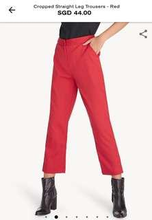 BNWT Pomelo Red Pants