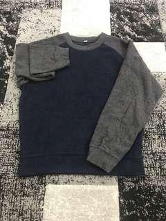 Uniqlo Gray/Blue