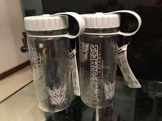 Double Wall Transformers Water Bottle