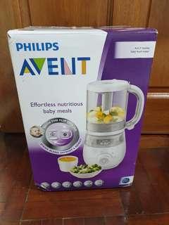 Philips AVENT 4-in-1 healthy baby food maker  SCF875