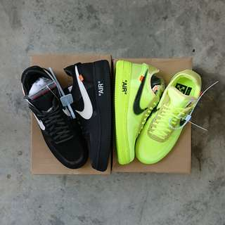 official photos 44ec1 a1420 Off White x Nike Air Force 1 Low
