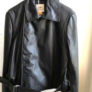 H&M Leather Jacket Studio Collection
