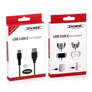 🚚 DOBE NINTENDO SWITCH USB CHARGING CABLE