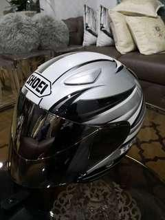 Swap / Jual - Helmet Shoei J-Stream Honda Silver Original size XL