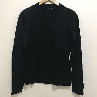 BOSSINI Knitted Vneck Sweater