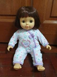 (BN) Baby doll in removable pyjamas