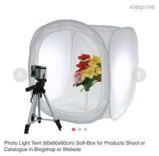 Photo Light Tent 80 x 80 x 80 cm