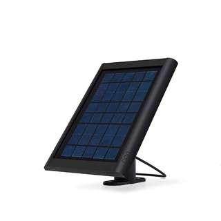 Ring Solar Panel Black - Compatible with Ring Spotlight Cam Battery and Stick Up Cam Battery ---  1132