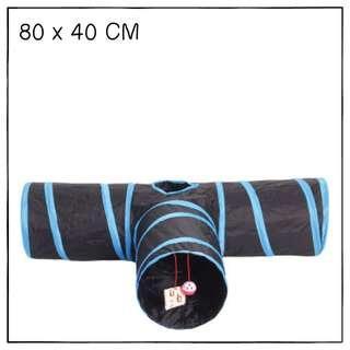 """""""TT"""" 80cm T-Shape Cat Tunnel"""