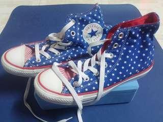 Unisex Converse星星布鞋