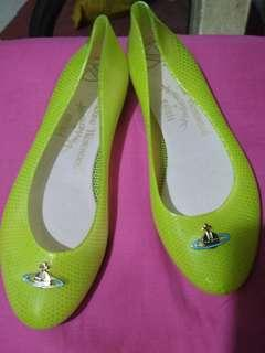 Melissa Jelly Shoes Green